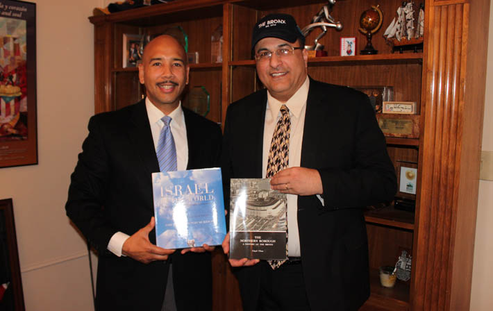 Borough President Diaz Meets with Consul General of Israel